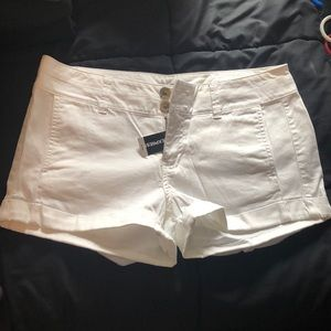 Express White Shorts
